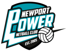 Newport Power Netball Logo